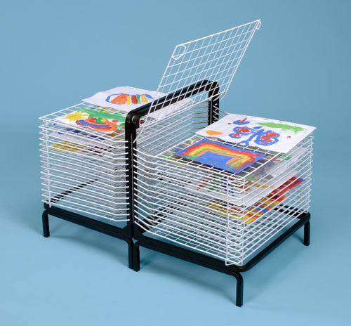 30 Shelf Spring Loaded Drying Rack