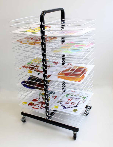 Small Mobile Art Drying Rack - EASE