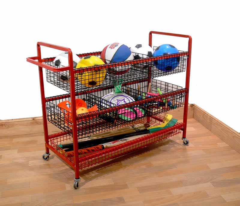 PE Storage Trolly