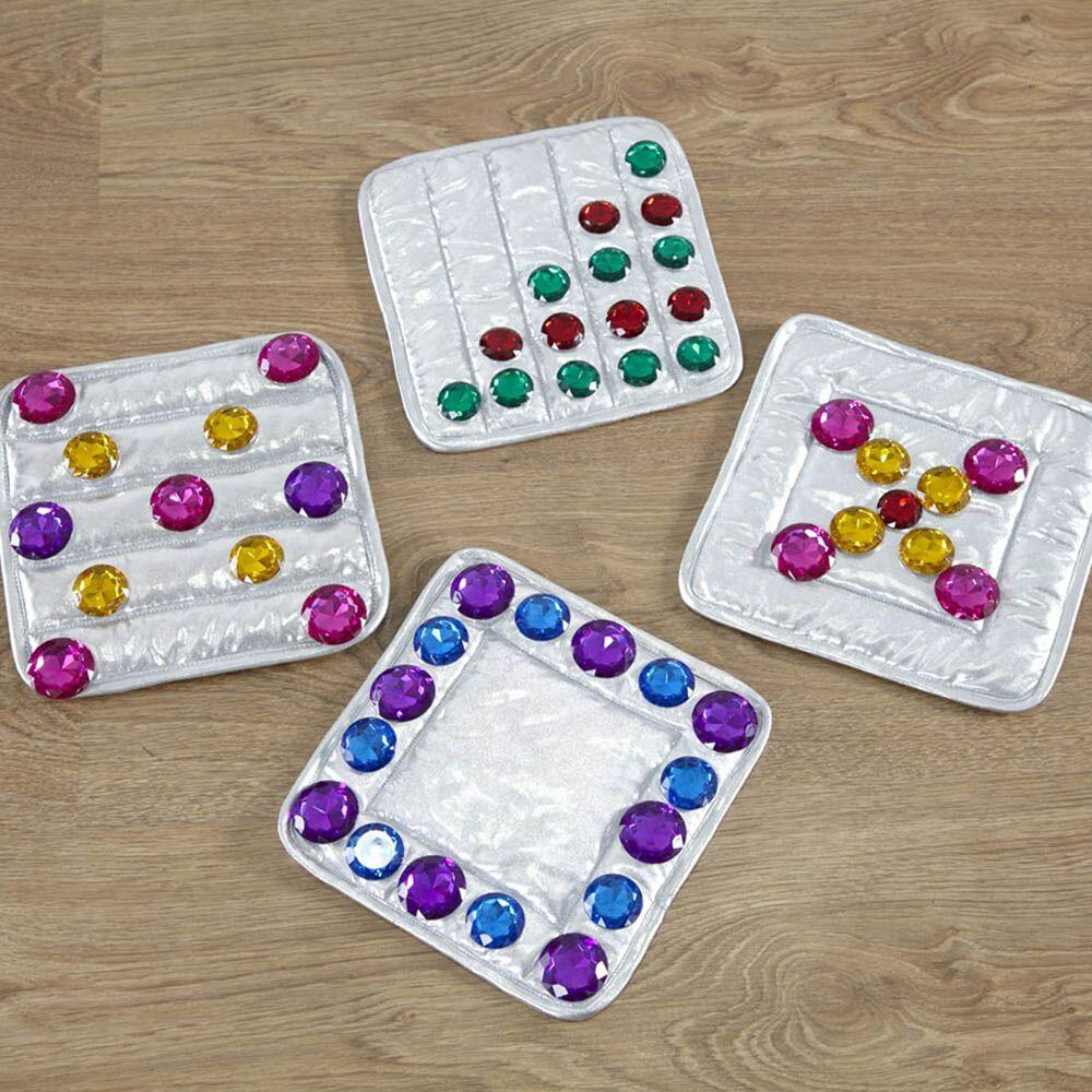 Treasure Sorting Counting and Size Set 140pcs