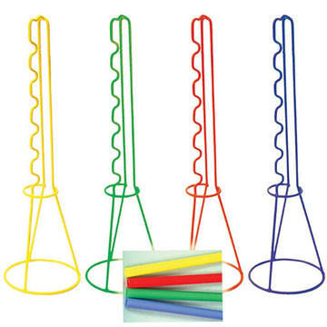 Coloured Wire Skittles Set 4pk