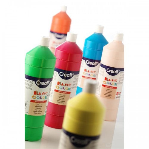 Mid Green CREALL Poster Paint 1 Litre