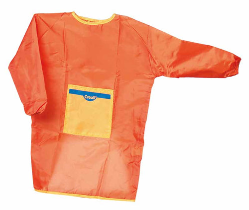 Set of 5 Small Orange Aprons