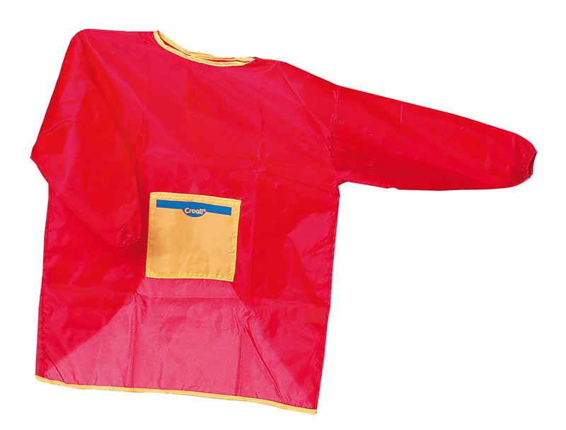 Set of 5 Medium Red Aprons