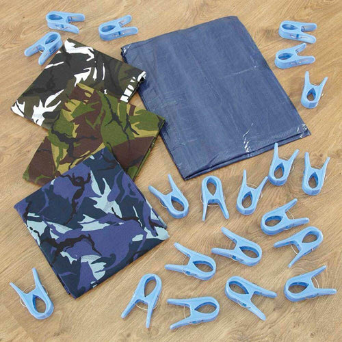 Dazzling Den Making Kit Camouflage Material