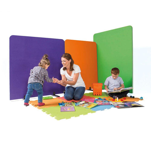 BusyScreen Divider 1200 x 1000mm Purple