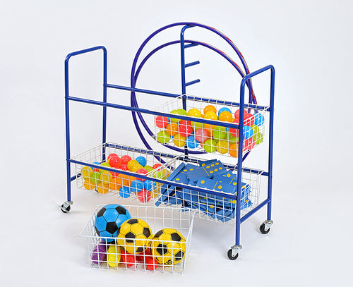 4 Basket Trolley