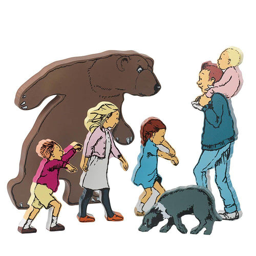 Bear Hunt Story Talk Cards & Character Bundle