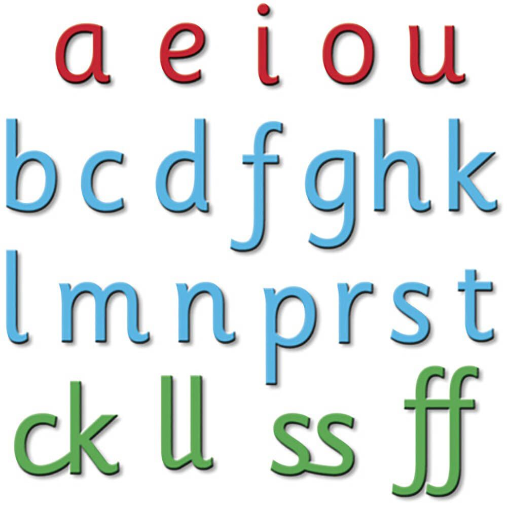 Phonics Phase 3 Magnetic Letters 6pk