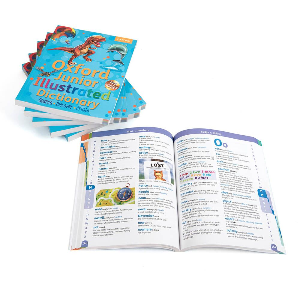 Oxford Junior Illustrated Dictionary 6pk
