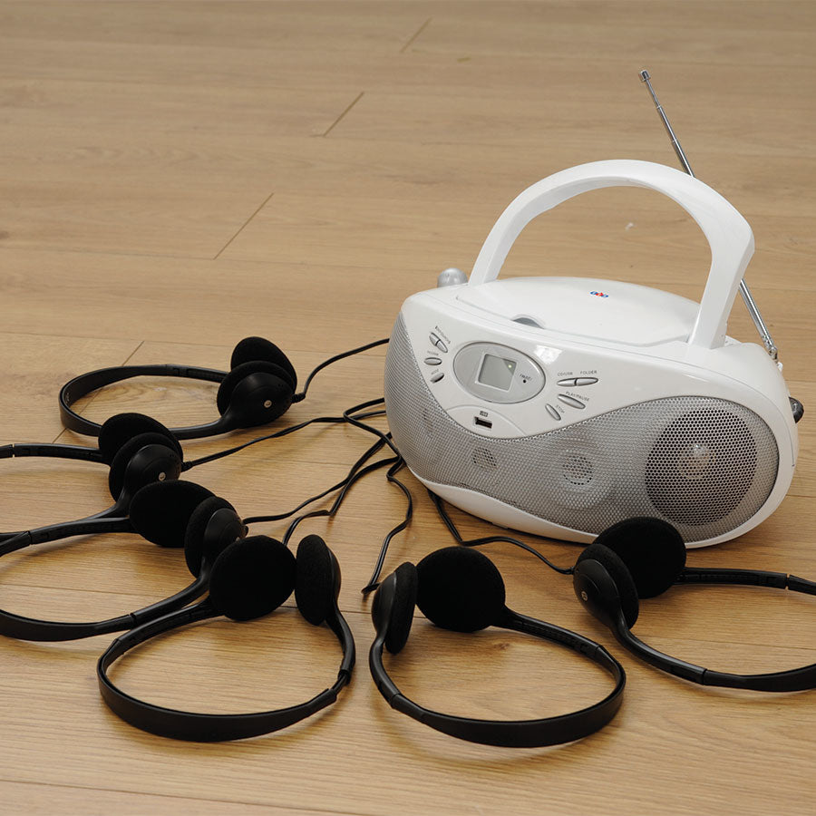 Easi-Listener 2 with 6 Standard Headphones