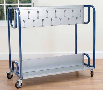 Classroom Cloakroom Trolley (stores 30 coats) - EASE