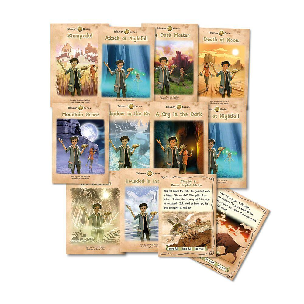 Talisman Phonic Reluctant Readers Book Packs Series 2
