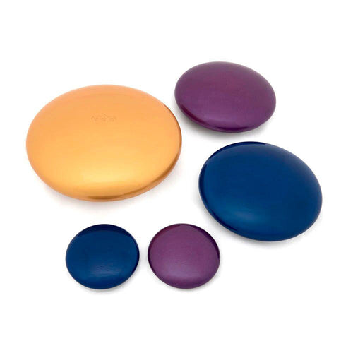 Marvellous Metallics Coloured Pebbles 10pk
