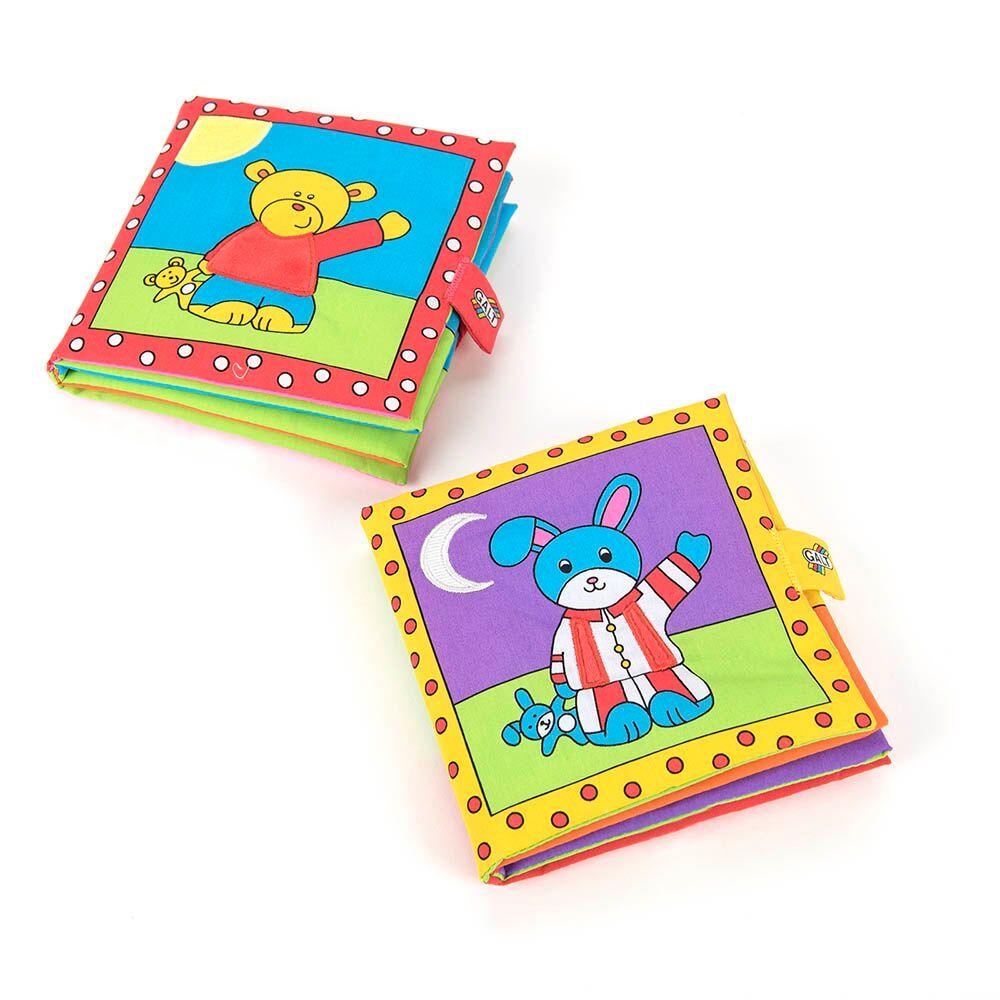 Large Soft Baby Book Packs 2pk