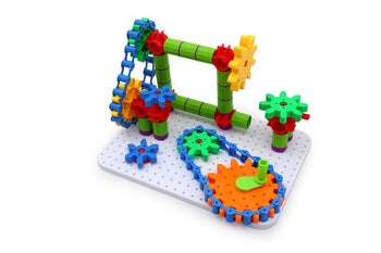 Large Construction Set - Gears Set - 330 pieces