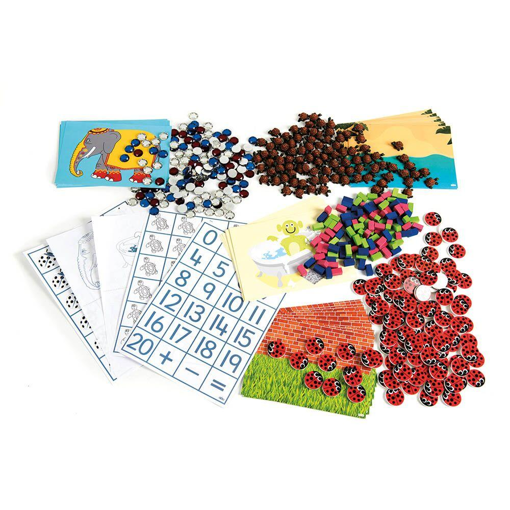 Rose Griffiths Maths Counters Games 4pk