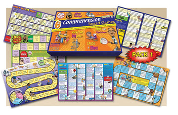 Reading Comprehension Board Games Level 1