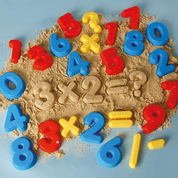 Multi Coloured Numbers and Symbols Moulds