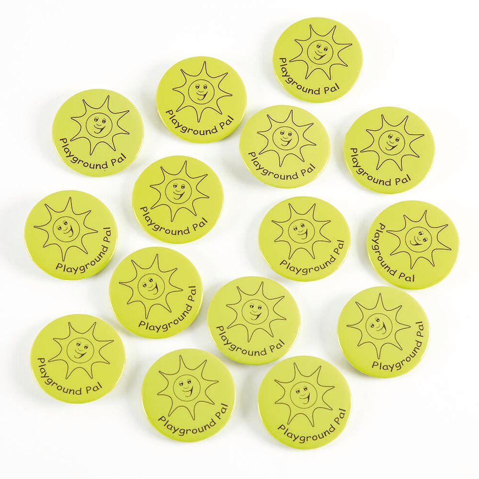 Playground Pal Button Badges 15pk