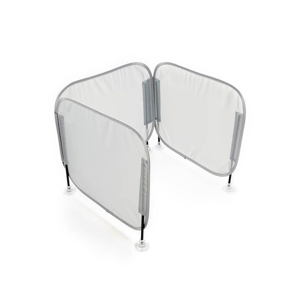 Pop-Up Concentration Desk Barrier Grey