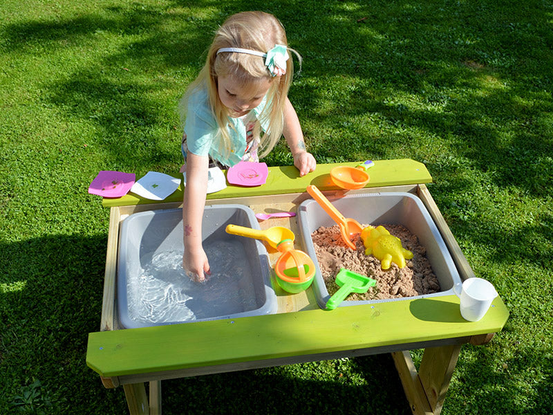 Childs picnic bench - sand and water table