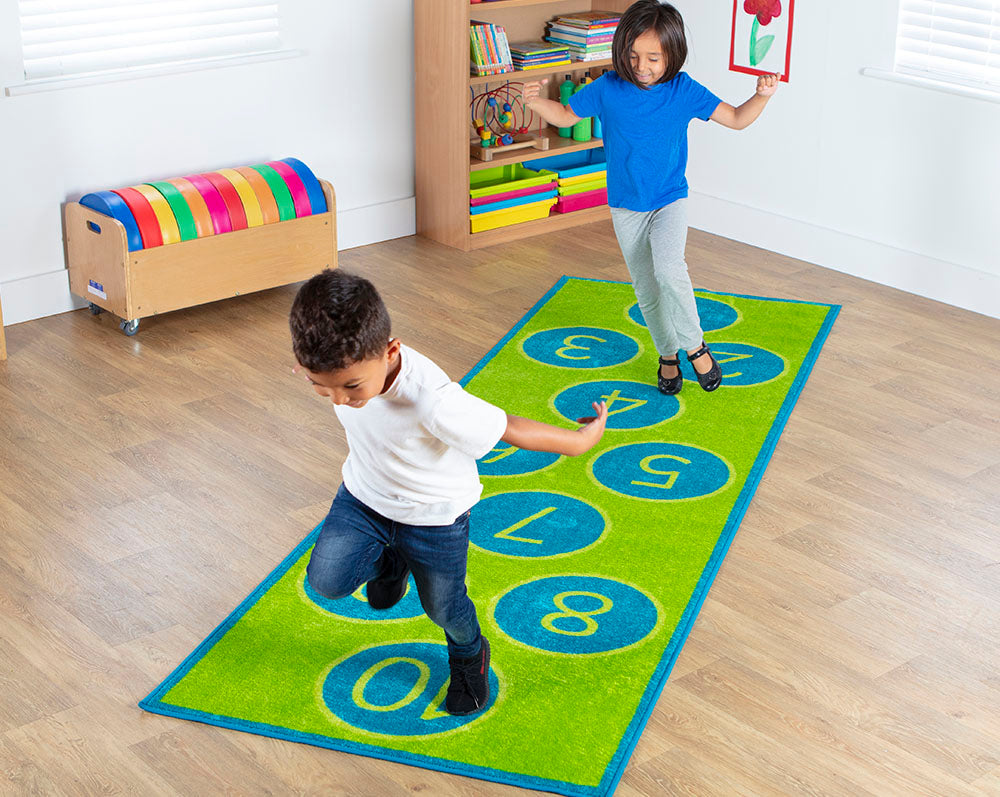 Indoor Hopscotch Mat