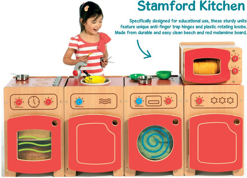 Set of all 5 Stamford Kitchen units.