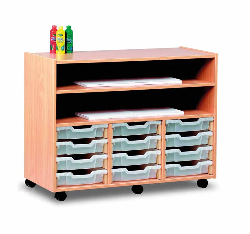 Large Art Storage with 12 Trays and 2 shelves