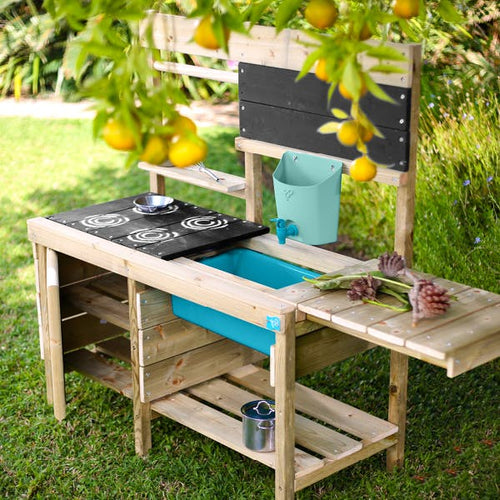 Deluxe Wooden Mud Kitchen