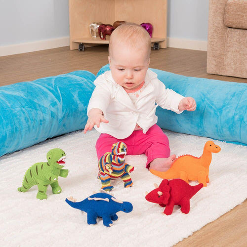Knitted Dinosaurs Set of 5