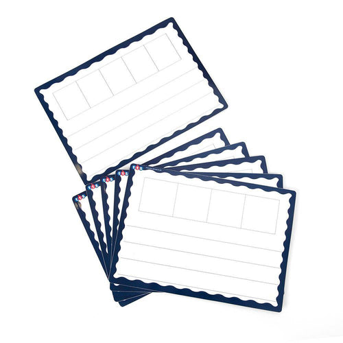 A4 Magnetic Boards - with 2/3 Phoneme Frames-Set 6