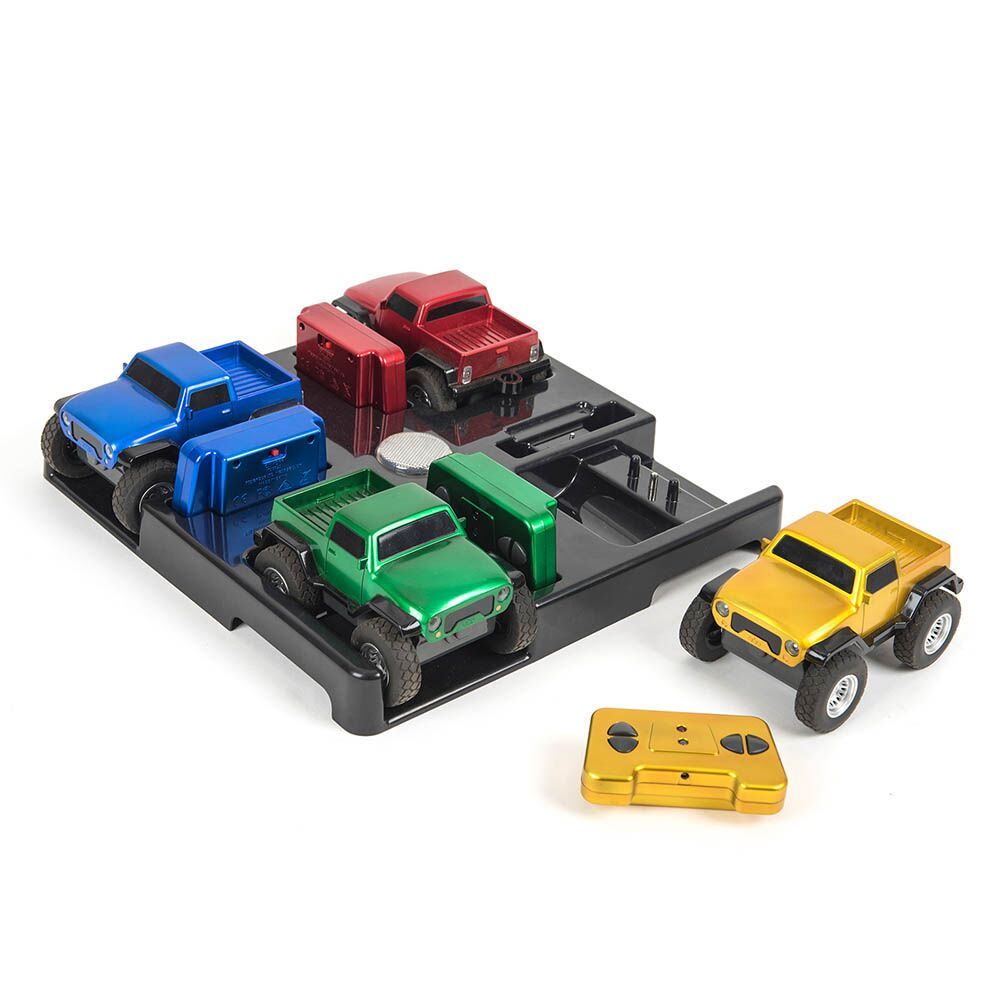 Remote Control Rugged Racers 4pk