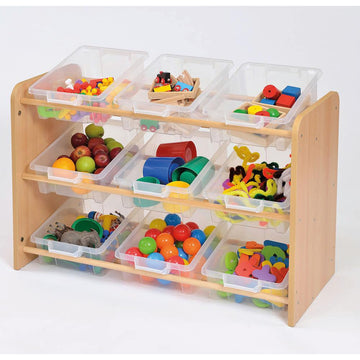 Room Scenes Tilted Tray Storage Unit