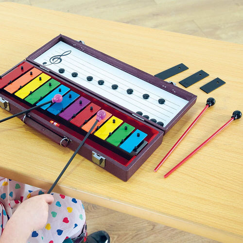 Rainbow Soprano Glockenspiel With Beaters
