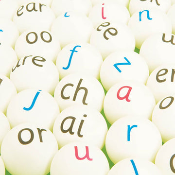 Letters & Sounds Phonics Ping Pong Balls