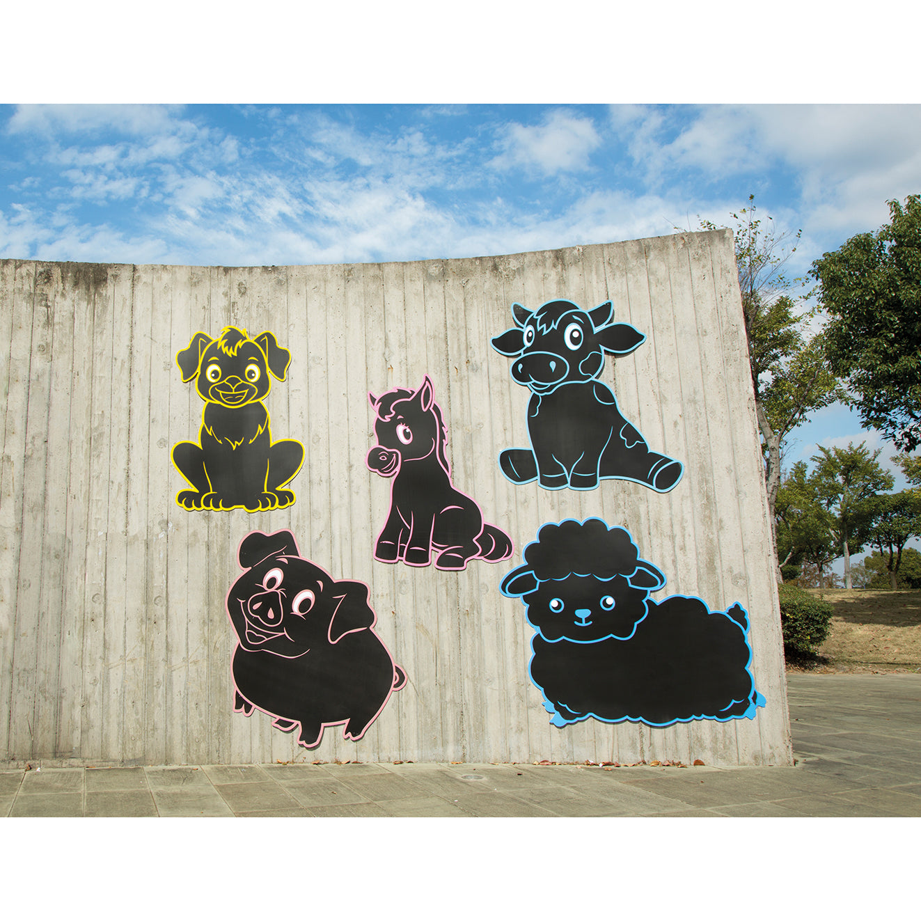 Farm Animals Chalkboards 3mm