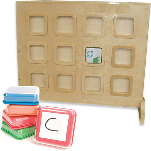 Wooden Recordable Talking Wall Panel 12 Big Points