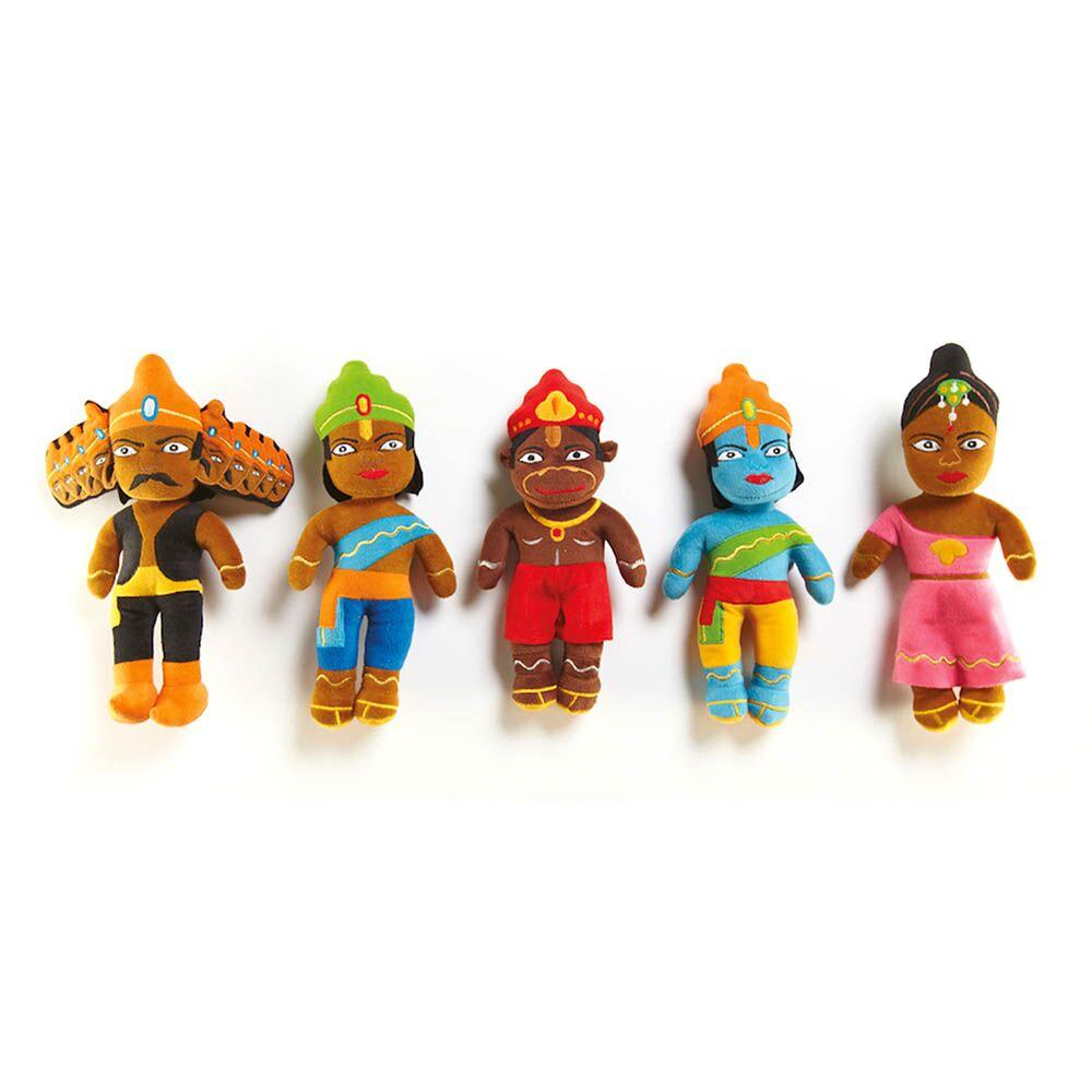 Washable Diwali Festival Story Basket 8pcs