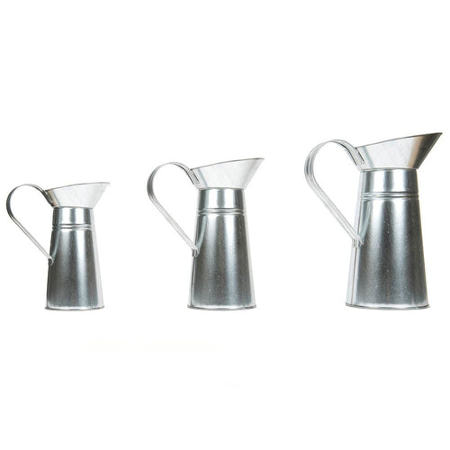 Metal Jugs 3pcs