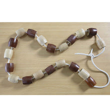 Outdoor Natural Wooden Threading Beads 20pcs