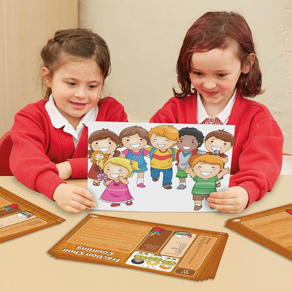Fraction Action Activity Cards Set 1