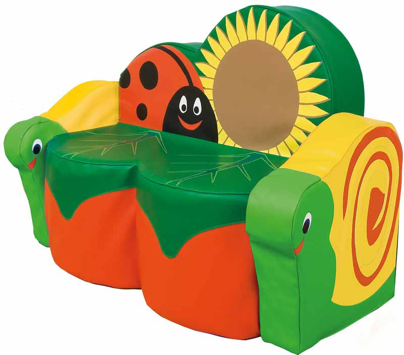 Snail Sofa (with arms) - EASE
