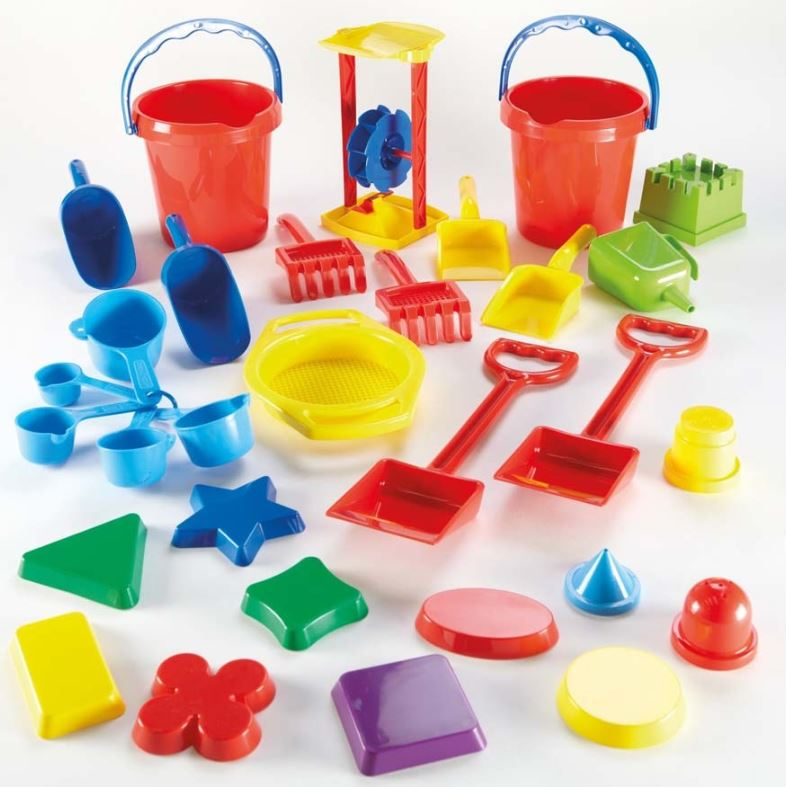 Sand Play Tool Set 31pcs