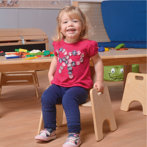 Toddler Wooden Chair 200mm