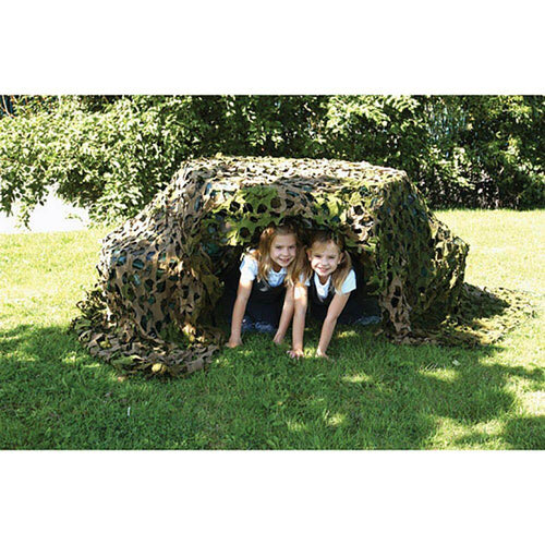 SPECIAL OFFER: Outdoor Camouflage Den Set + 20pk Giant Pegs