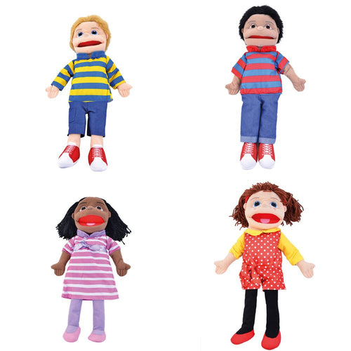 Large People Hand Puppets Buy all and Save