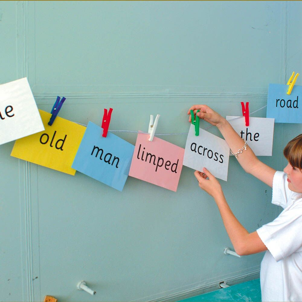 Grammar Washing Line