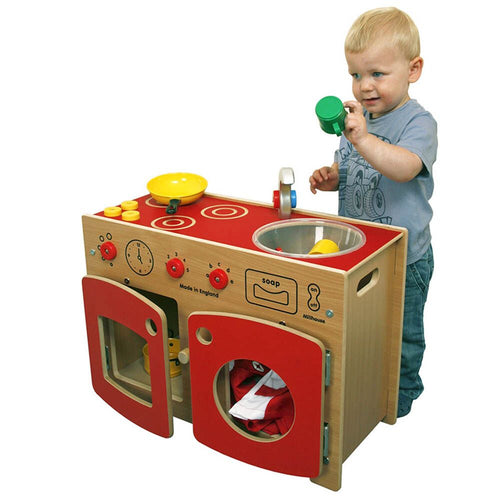 Toddler Role Play Kitchen Unit