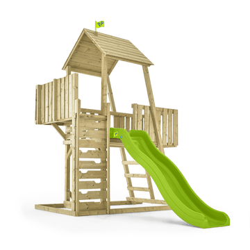 Kingswood Normandy Wooden Climbing Frame & Slide